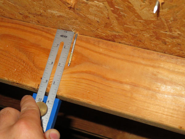 wind mitigation inspection verification of roof sheathing fasteners