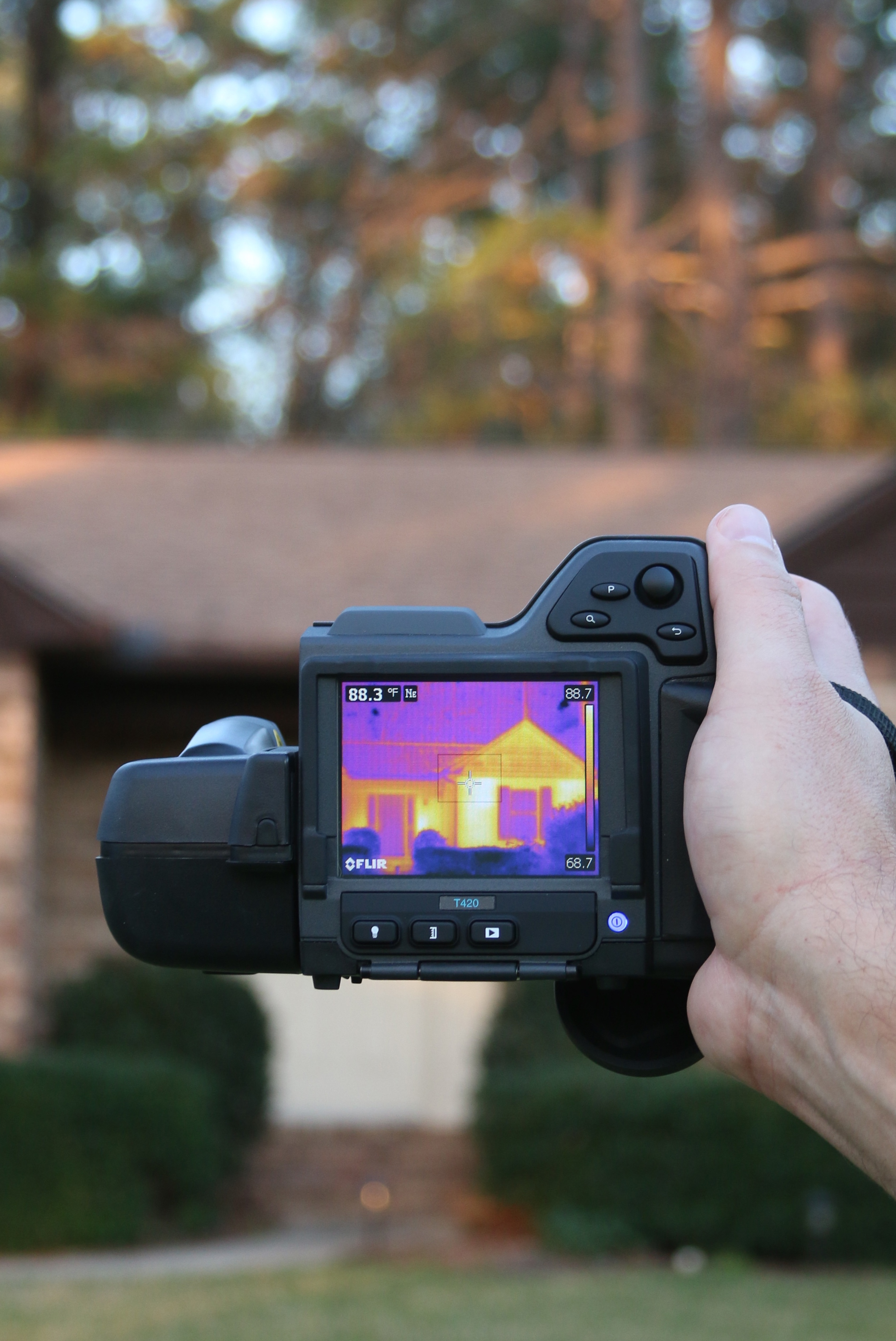 Home Inspection using Infrared Camera