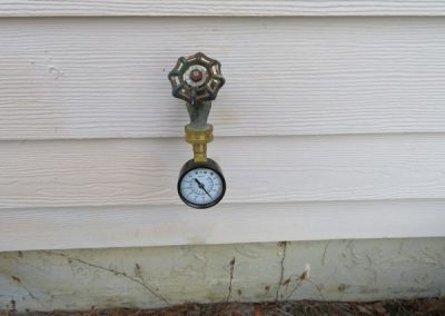 Four Point Inspection Exterior Plumbing