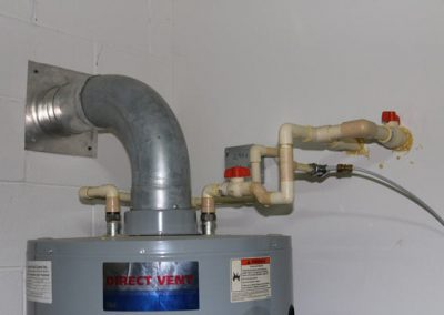 Four Point Inspection, Water Heater
