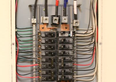 Four point inspection - interior electrical panel