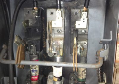 Four Point Inspection, Fusible disconnect
