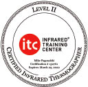 Infrared Training Center Certified Home Inspector, Level II Thermographer