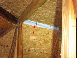 Defects in the attic ventilation will be identified in your Tallahassee Home Inspection Report